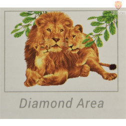 Diamond Dotz maksi set Levja družina