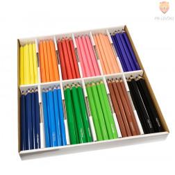 Debele barvice v škatli 144 kosov