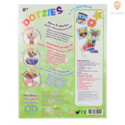 Diamond Dotz DOTZIES Green Art kit