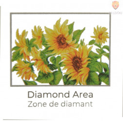 Diamond Dotz veliki set Hazy Daze Sunflowers