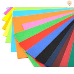 Barvni papir 130g A4 miks 100 kosov