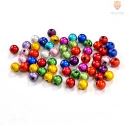 Perle s prosojno glazuro 8mm 15g