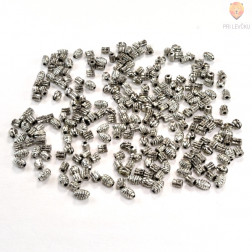 Perle plastične kovinski izgled miks 1 30g