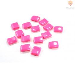 Perle plastične kvadratne 19x23mm 15 kosov