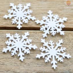 Filc snežinke 6 kosov