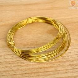 Žica zlate barve 0,80 mm
