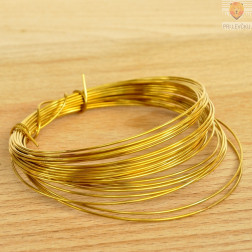 Žica zlate barve 1 mm
