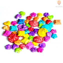 Akrilne perle batik mix 50g