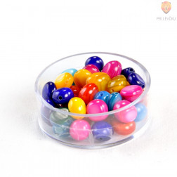 Perle školjke barvane 18g