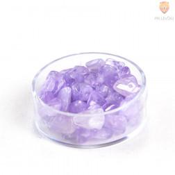 Perle poldragi kamni - lomljenci, ametist 18g