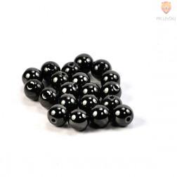 Perle magnetne 8mm črne barve 20/1