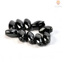 Perle magnetne 10x16mm črne barve 10/1
