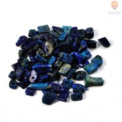 Perle poldragi kamni - lomljenci, lapis lazuli 18g