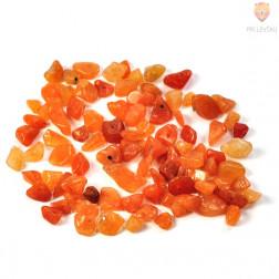 Perle poldragi kamni - lomljenci, jaspis 18g