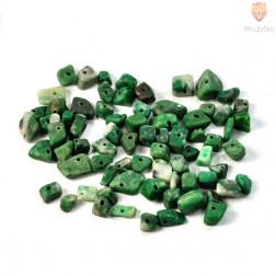 Perle poldragi kamni - lomljenci, žad 18g