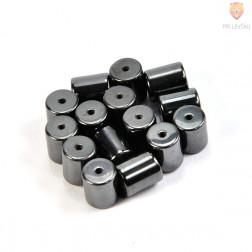 Perle magnetne 9x10mm črne barve 15/1