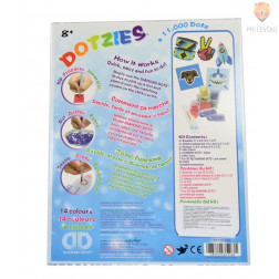 Diamond Dotz DOTZIES Blue Art kit
