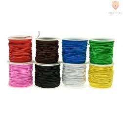 Elastika - elastična vrvica barvna 0,8 mm x cca 18 m