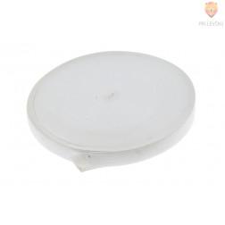 Elastika ploščata bele barve 2cmx2m