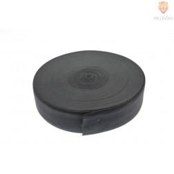 Elastika ploščata črne barve 5cmx2m