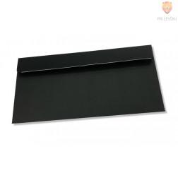 Elegantna črna kuverta 220x110mm 120g 1 kos gladka s samolepilnim robom