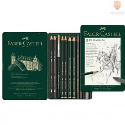 Grafitni set Pitt Graphite 11 Faber-Castell