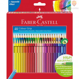 Akvarelne barvice Faber-Castell Grip 48/1