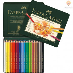 Polychromos umetniške barvice Faber-Castell 24 kosov