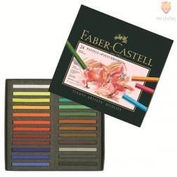 Suhi pasteli POLYCHROMOS Faber-Castell 24 kosov
