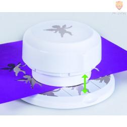 Flexi magnetni luknjač za papir Angelček premera cca 4 cm