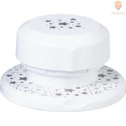 Flexi magnetni luknjač za papir Zvezdice cca 4 cm