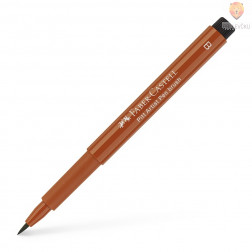 Pigmentiran tuš Brush rjav sanguine Faber-Castell Pitt Artist Pen
