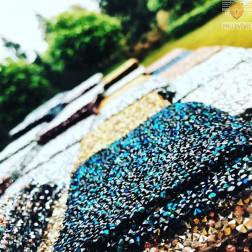 Kamenčki za lepljenje 11x9,5cm različne barve