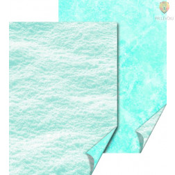 Karton z naravnimi motivi Sneg in led 50x70cm 300g/m2 1 kos