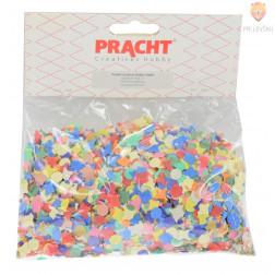Papirnati konfeti 7mm barvni miks 50g