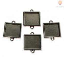 Kovinski vmesni člen kvadrat 4 kosi