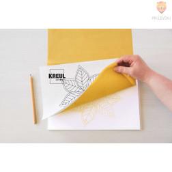 Transfer papir za preslikavo motivov na tkanine in druge površine