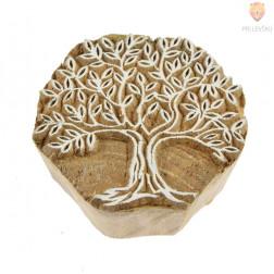 Lesena štampiljka Drevo življenja 6cm 1 kos