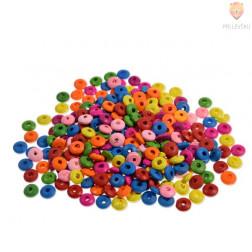 Perle lesene ploščate 5 x 11 mm, 30 g