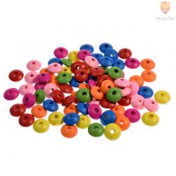 Perle lesene ploščate 6 x 14 mm, 30 g