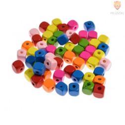 Perle lesene kocke 10 mm, 30 g