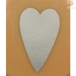 Luknjač mali 15mm Srce podolgovato