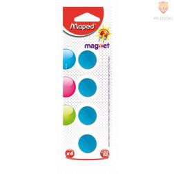 Magneti 22mm barvni 4 kosi