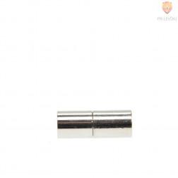 Magnetni zaključek 21 x 8 mm, platinast, 1 kos