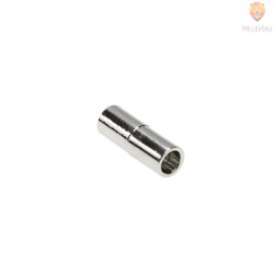 Magnetni zaključek 20 x 7 mm, platinaste barve, 1 kos