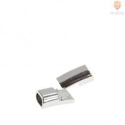 Magnetni zaključek 21 x 9 mm, platinaste barve, 1 kos