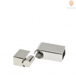 Magnetni zaključek 30 x 13 mm, platinaste barve, 1 kos