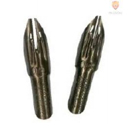 Kaligrafski set Scroll Dip Pens dvojna konica 1 držalo in 6 peres