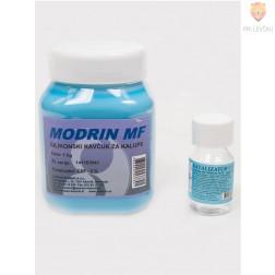 Izdelava kalupov - MODRIN 1 kg silikonski kavčuk in katalizator