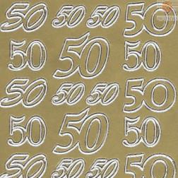 Nalepke 50 tri velikosti